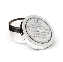 Taylor of Old Bond Street - Platinum Collection Shaving Cream | 150g 5.3 fl oz | Agent Shave