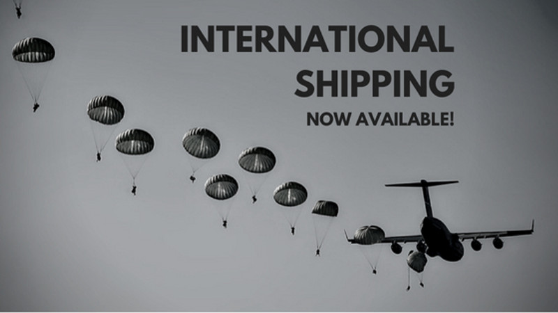 International Shipping!