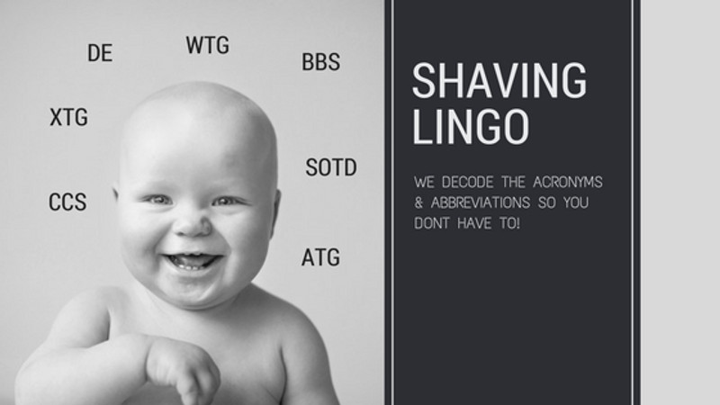 Decoding Shaving Terminology