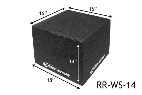 """Shop for your Race Ramps 14"""" Portable Wheel Stands (Set of 2) RR-WS-14 and add a coupon in your shopping cart to save even more before you check out with Just Bolt-Ons."""