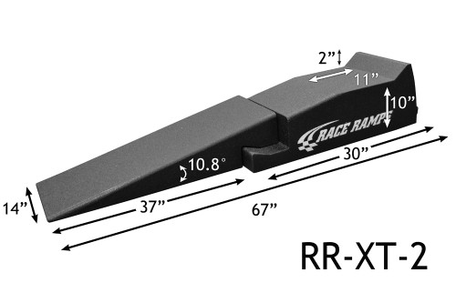 "Shop for your Race Ramps 67"" Car Service Ramps XT 2-PC Design - 10.8 Degree Angle (Set of 2) RR-XT-2 and add a coupon in your shopping cart to save even more before you check out with Just Bolt-Ons."