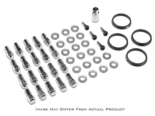 Race Star 14mmx1.50 Acorn Closed End Deluxe Lug Kit - 20 PK #602-2428-20