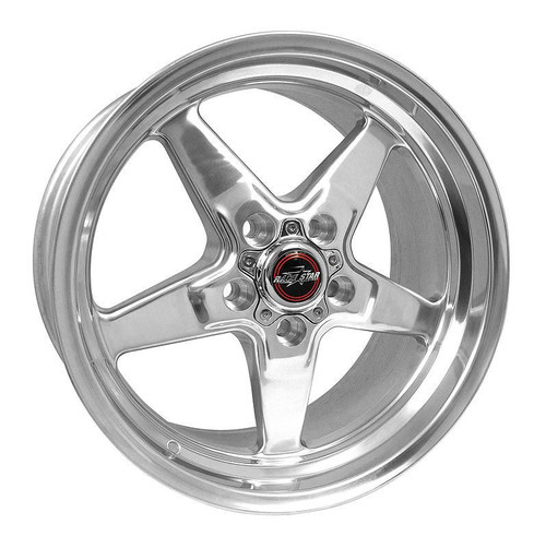 Shop for your Race Star 92 Drag Star Polished 18x5 5x4.75BC 2.00BS GM #92-850245DP.