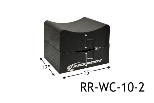 "Shop for your Race Ramps 10"" of Lift Wheel Cribs Adjustable 5""+5"" Stacked - 15""L x 12""W (Set of 2) RR-WC-10-2 and add a coupon in your shopping cart to save even more before you check out with Just Bolt-Ons."