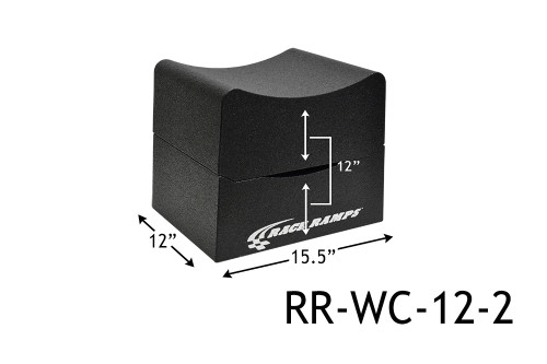 """Shop for your Race Ramps 12"""" of Lift Wheel Cribs Adjustable 6""""+6"""" Stacked - 15.5""""L x 12""""W (Set of 2) RR-WC-12-2 and add a coupon in your shopping cart to save even more before you check out with Just Bolt-Ons."""