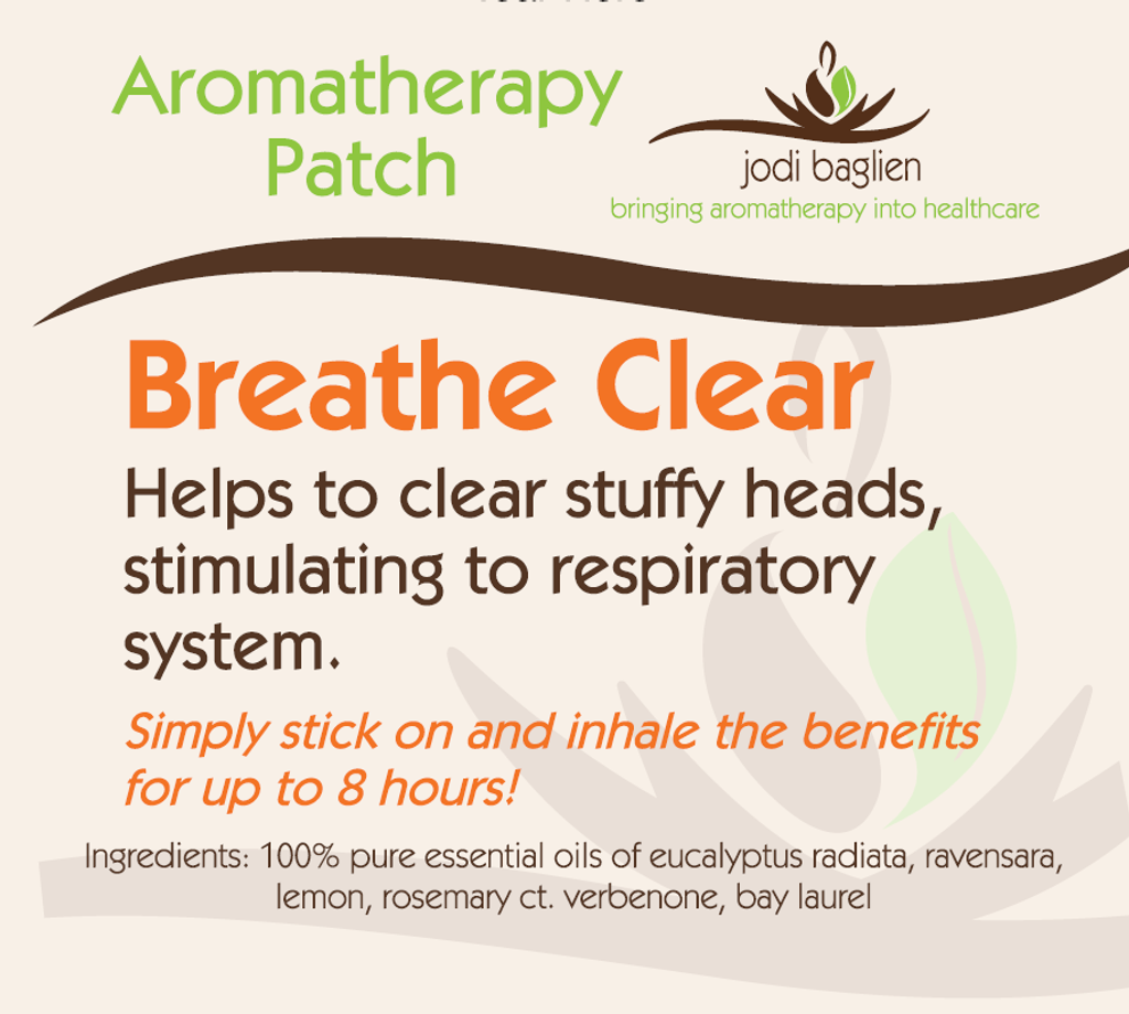 Aromatherapy Patch - Breathe Clear
