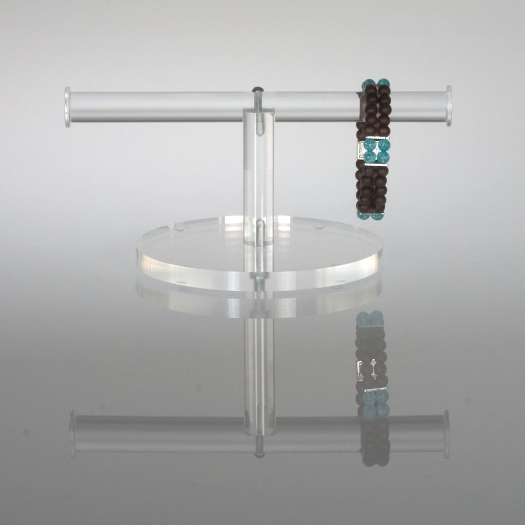 clear acrylic short display for jewelry