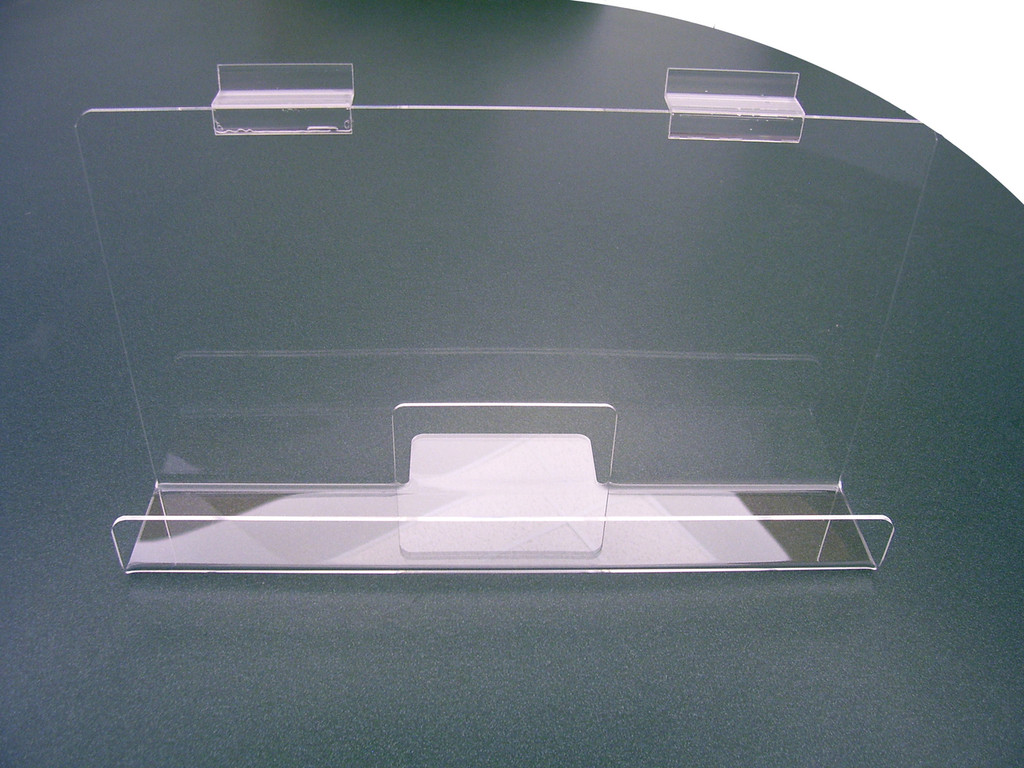 """Back Aisle Special - 13"""" wide Slatwall Shelf front view"""