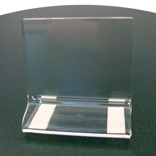 8488 - header holder, clear acrylic, Clear Solutions