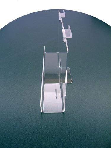 "Back Aisle Special - 13"" wide Slatwall Shelf side view"