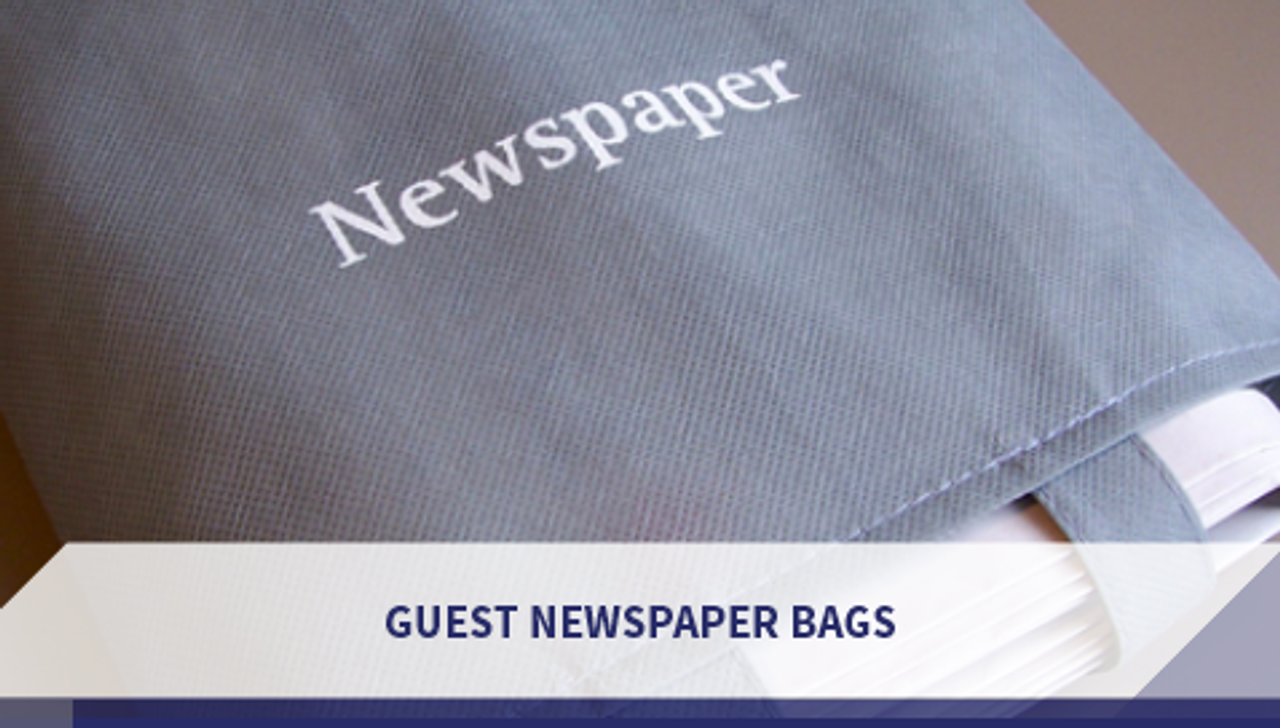 Guest Newspaper Bags