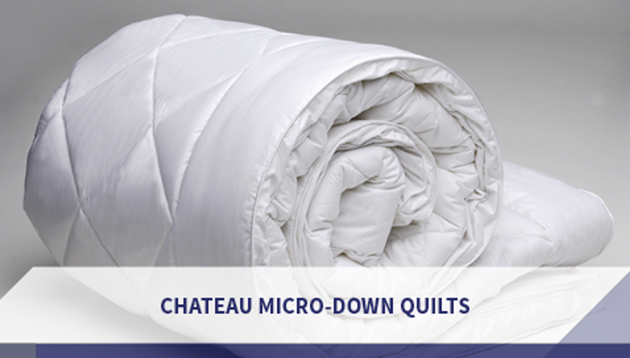 Chateau Micro-Down Quilts