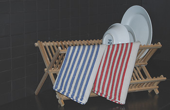 Striped Cotton Tea Towels