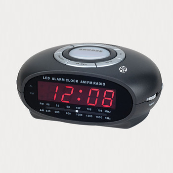 PYE AM/FM Clock Radio with Night Light