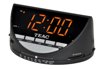 TEAC AM/FM Clock Radio