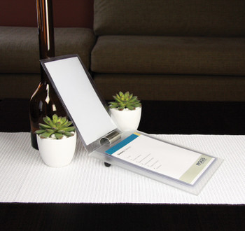 Frosted Acrylic Compendium A5 Stand