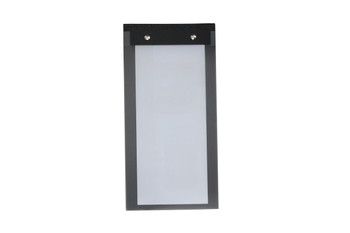Slimline Chicago Linen Menu Board - Top Bound
