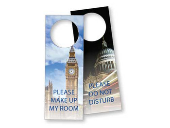 London Laminated Door Sign