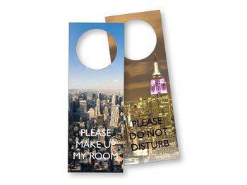 New York Laminated Door Sign