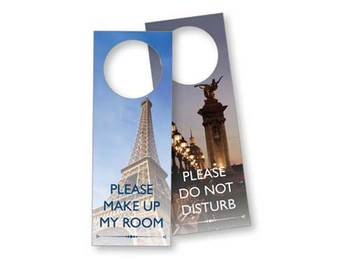 Paris Laminated Door Sign