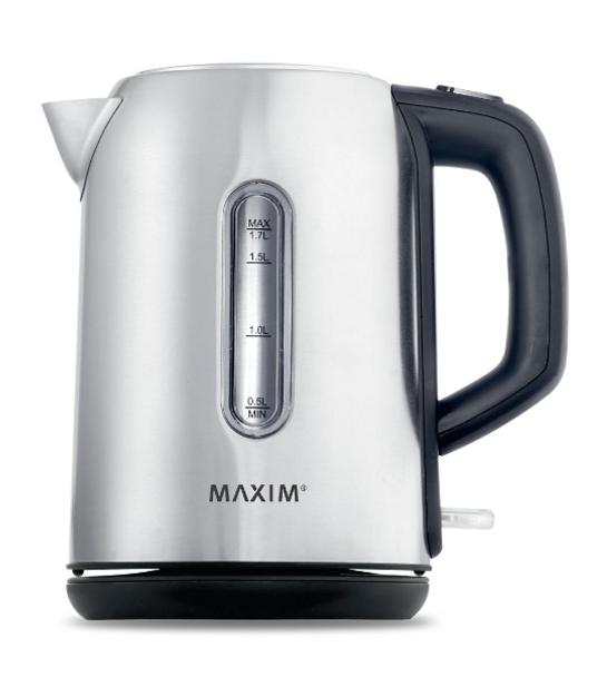 Maxim Kitchen Pro 1.7L Stainless Steel Kettle