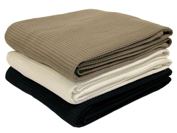 Cotton Waffle Weave Blanket