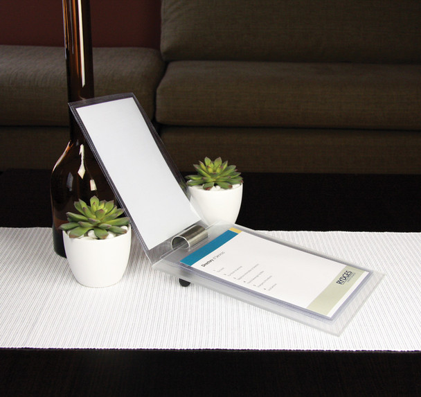 Frosted Acrylic A5 Compendium Stand