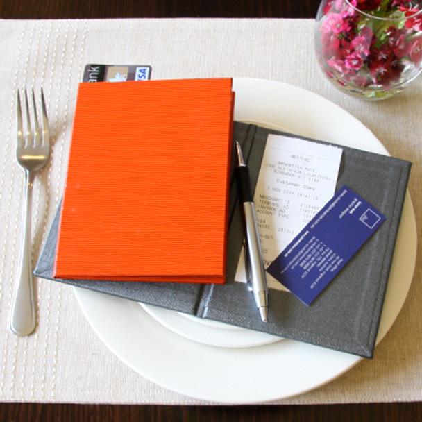Compact Linen Bill Folder