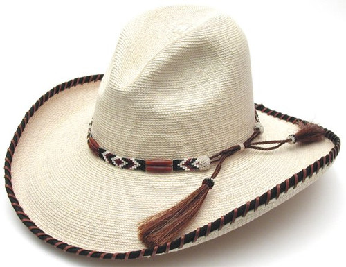 "Palm Leaf | 4"" Brim 