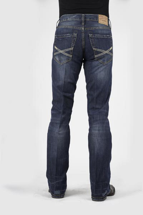 Stetson Rocks Fit Jean | Lower Rise | Slightly Fitted Through The Thigh | Bootcut