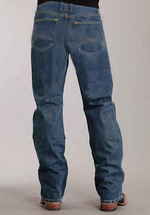 Stetson 1312 Modern Fit | Stone Wash |  Lower Rise | Relaxed Thigh | Boot Cut