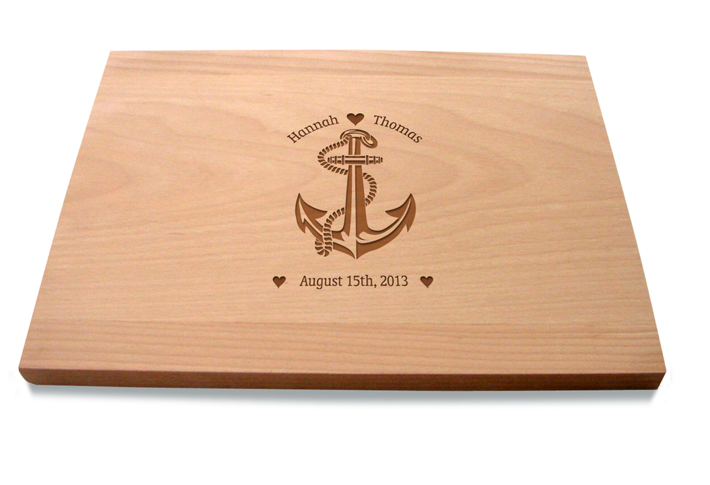 Your Love Is My Anchor Cutting Board