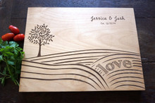 Farmer country living cutting board by TheCuttingBoardShop