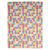 Technicolour Stamp Collection Tea Towel