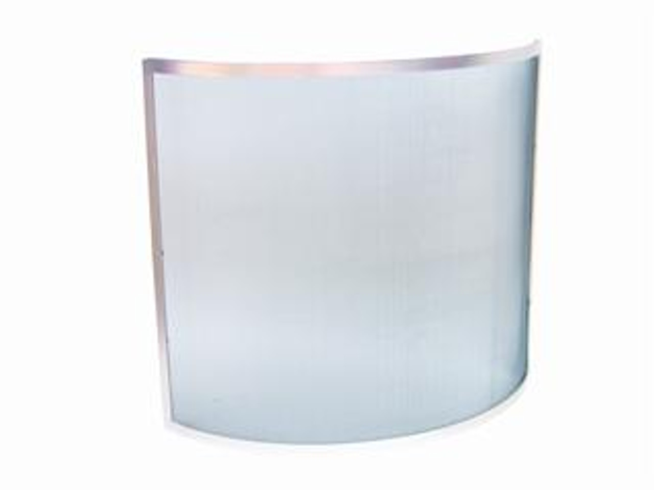 Manor Curved Guard Pewter