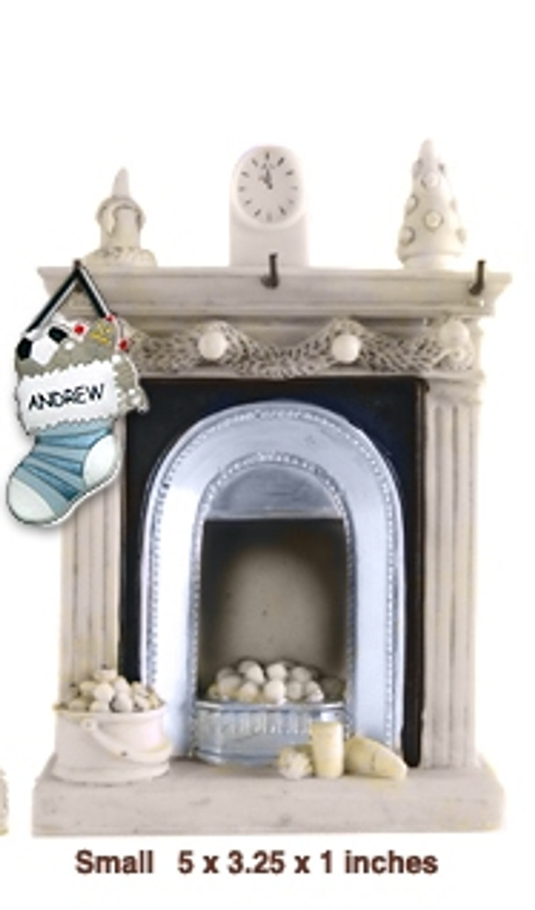 Waiting For Santa - Fireplace Small