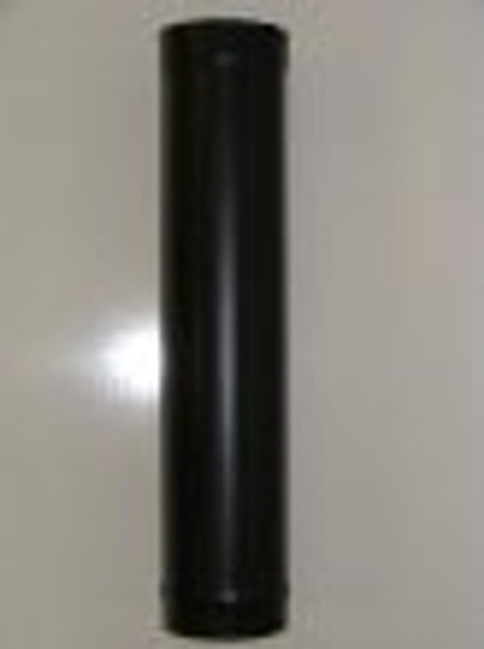 """Stove Chimney Flue Pipe Vitreous Enamel Matt 6"""" x 600MM"""