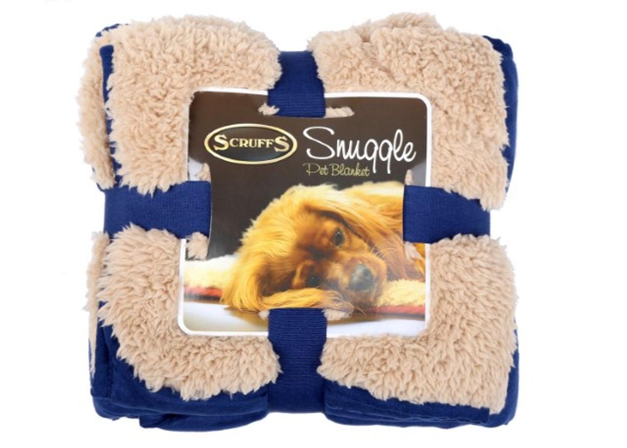 Snuggle Pet Blanket Blue
