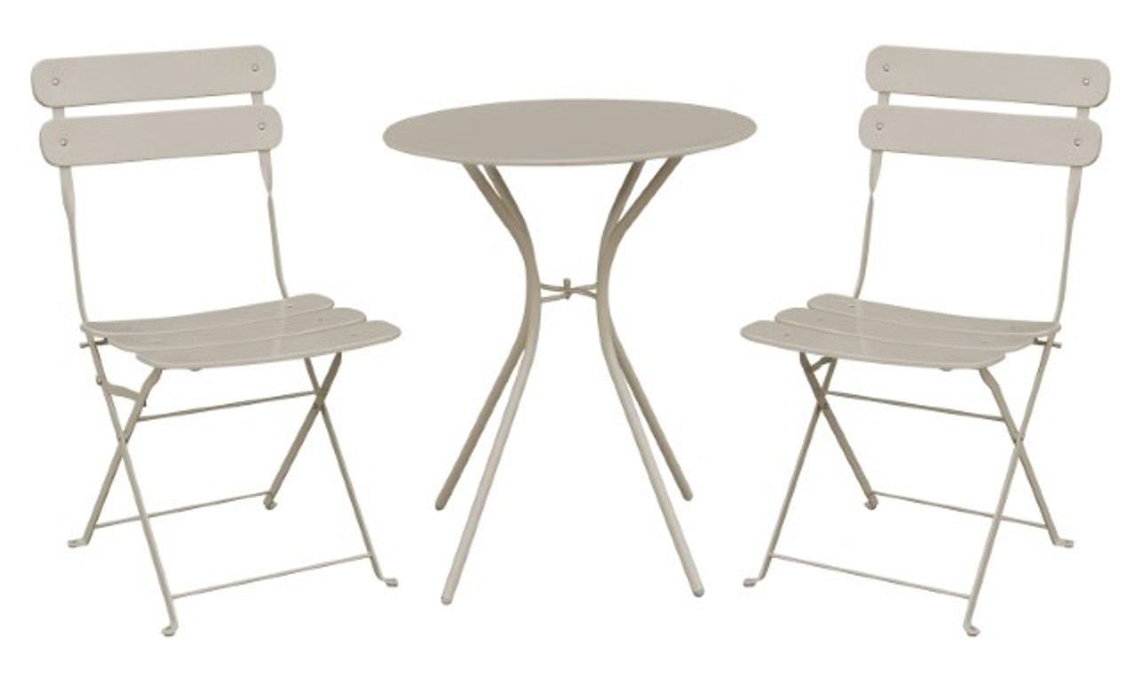 Pisa 2 Seater Cream Bistro Set