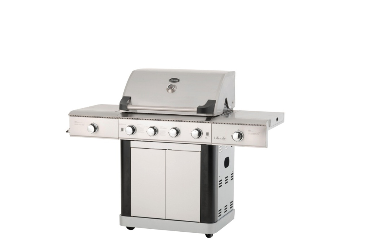 St Lucia 4+2 Gas BBQ  -  LOCAL DELIVERY ONLY