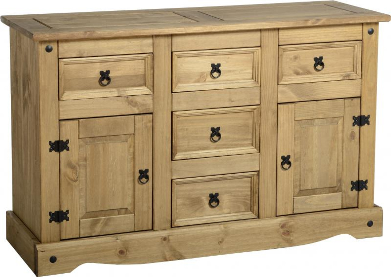 corona sideboard 5 drawer