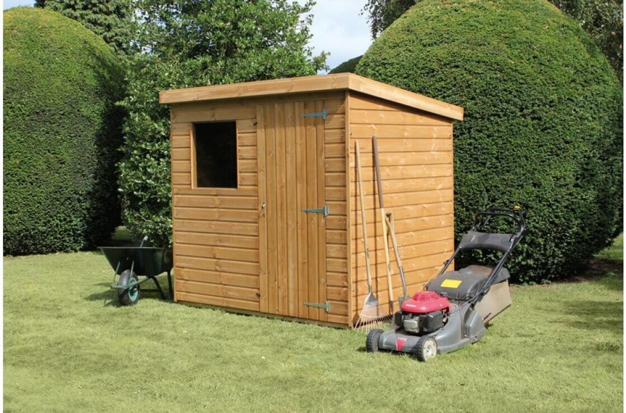 shedlands dalby pent shed