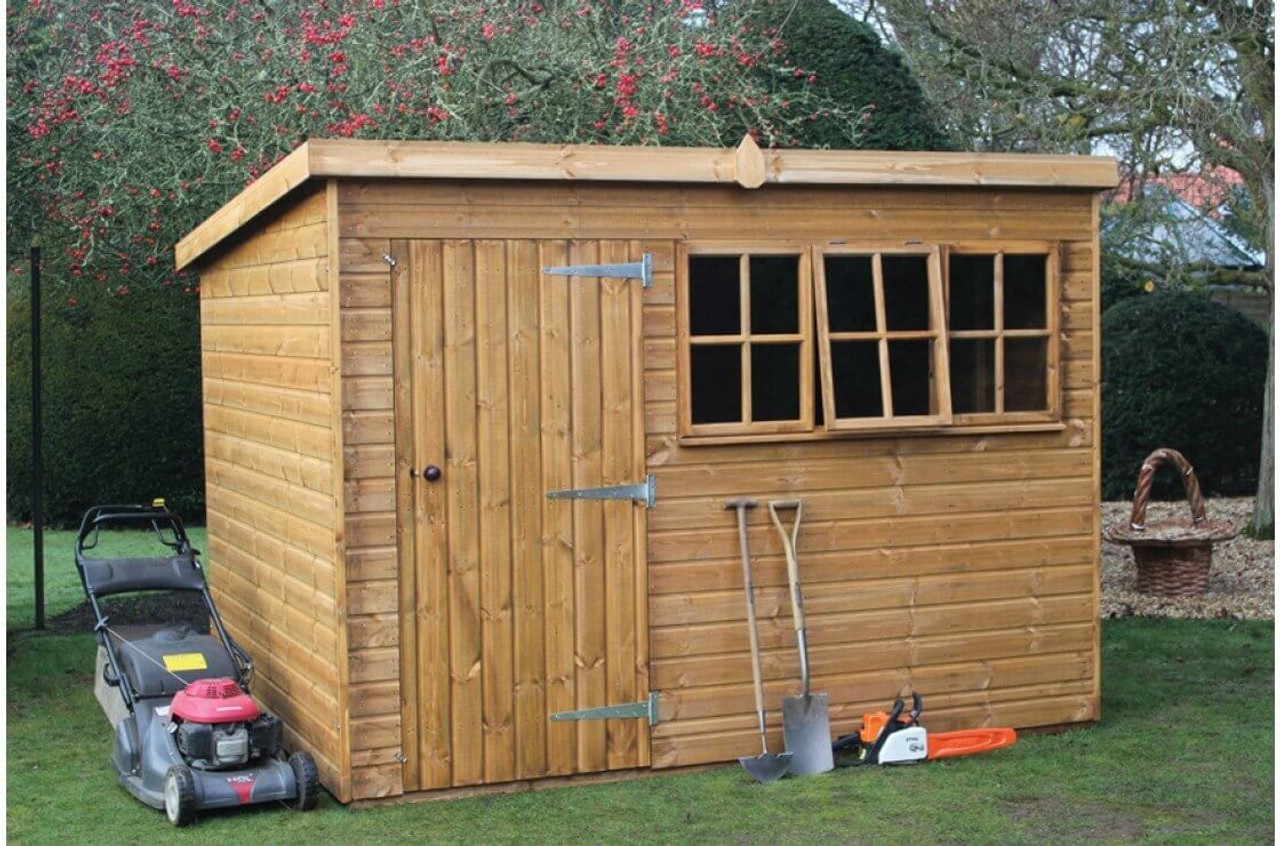shedlands heavy duty pent shed