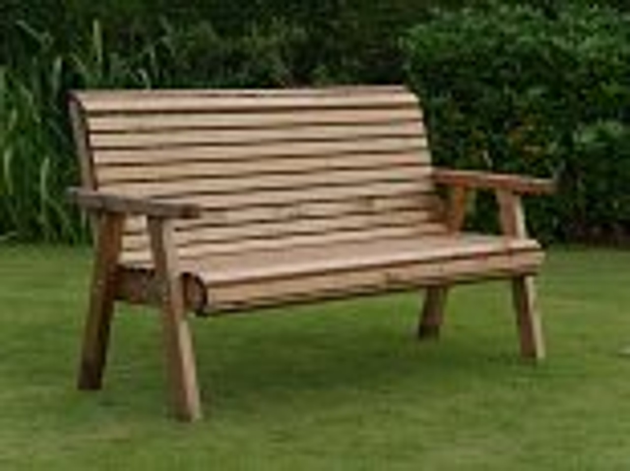 Dales Three Seater Garden Bench