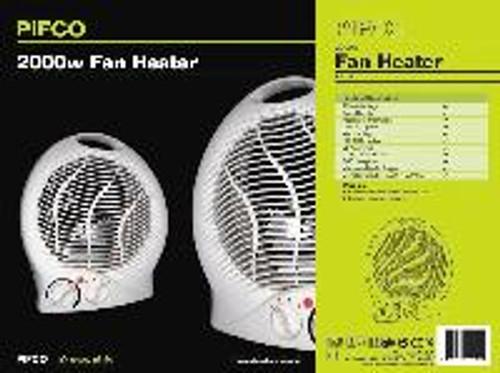 Pifco Upright Fan Heater 2 Kw