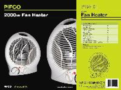 Upright Fan Heater 2 KW