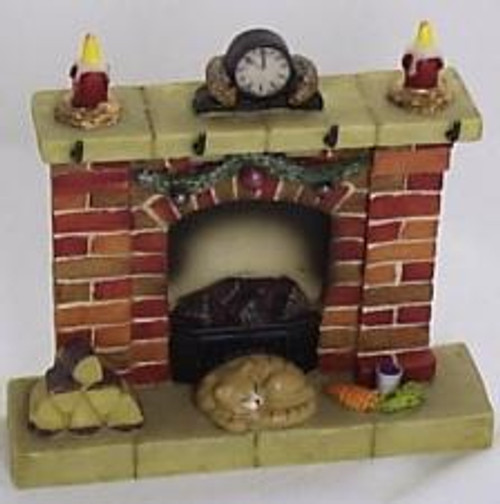Waiting For Santa - Fireplace Medium
