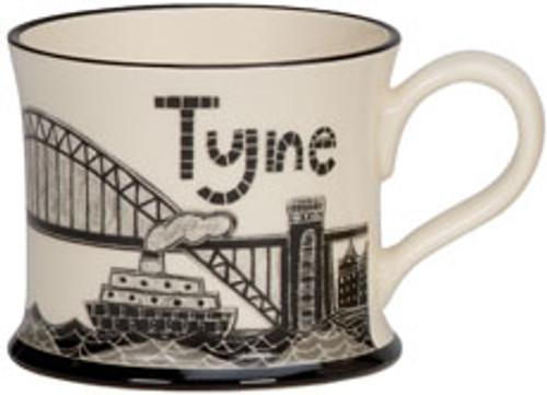 Fog on the Tyne Mug