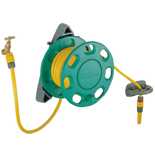 Hozelock 15m Hose & Wall Reel