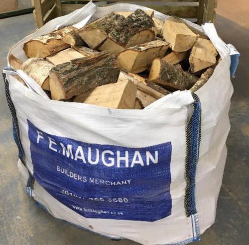 Premium Kiln Dried Hardwood Logs (Dumpy Bag) FREE LOCAL DELIVERY